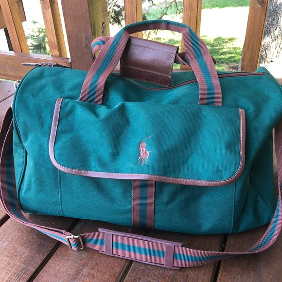c45cb7237fc6 Ralph Lauren Polo Fragrances Travel Duffel Bag. M 5ae70c2c50687c028e966065